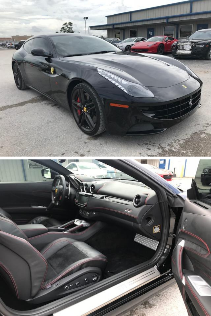 This 2016 Ferrari FF is under 4k miles, run and drive