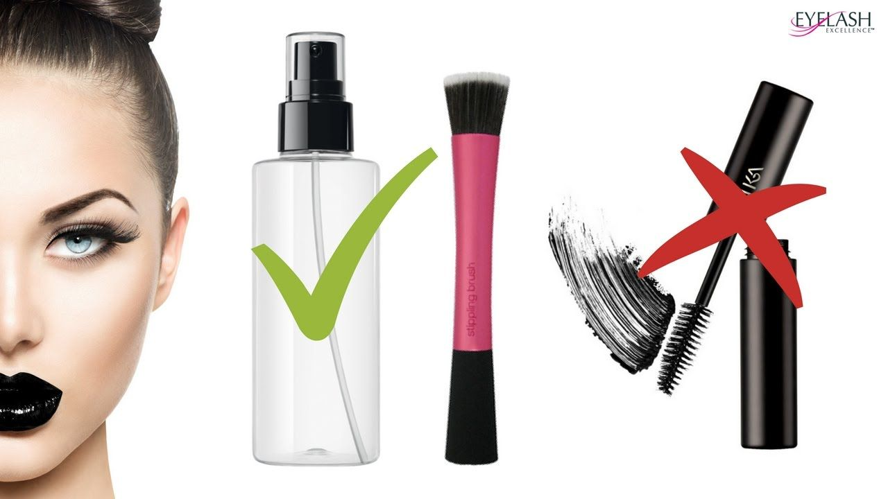 HOW TO CLEAN EYELASH EXTENSIONS AFTERCARE Eyelash