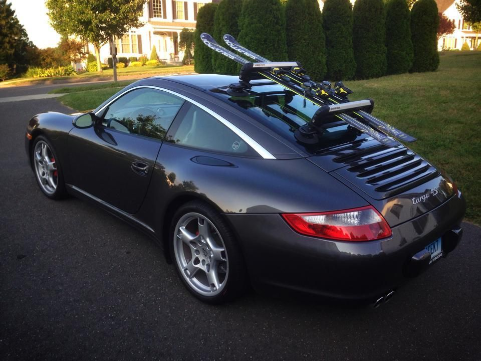 Roof Transport System Allowing Your 991 To Be The Minivan It Always Wanted To Be Page 4 Ski Rack Mini Van Car Goals