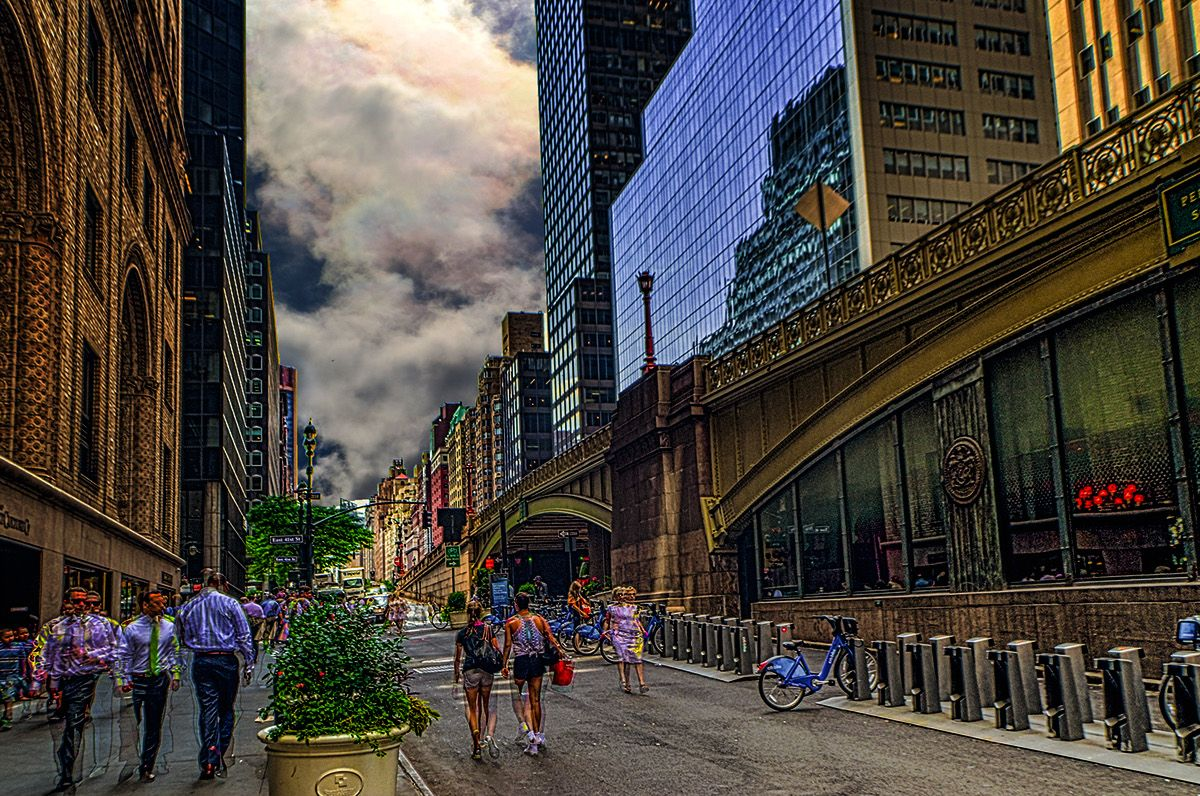 3 VIEWS OF GRAND CENTRAL. NY on Behance