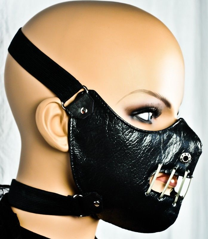 Hannibal Lector Motorcycle Face Mask Horror Halloween Cosplay Biker Sons Anarchy Ebay Motorcycle Face Mask Leather Face Mask Leather Mask