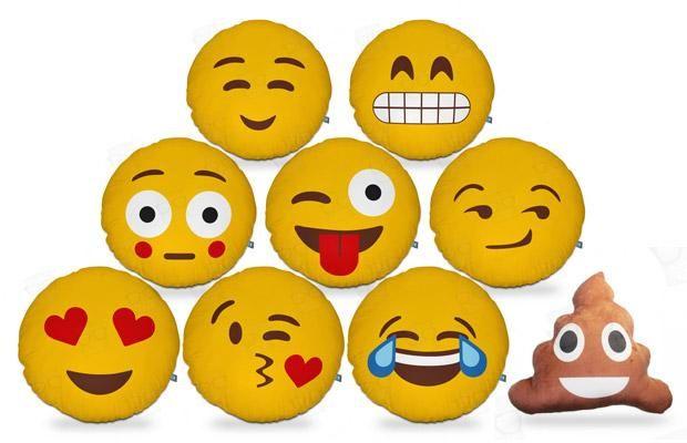 Almofadas de Emoticons - Emojis do WhatsApp                                                                                                                                                                                 Mais