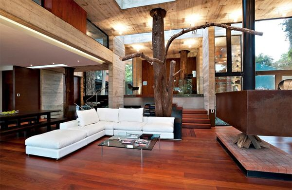 Modern Tree House With Wood Architecture In Guatemala   Home .