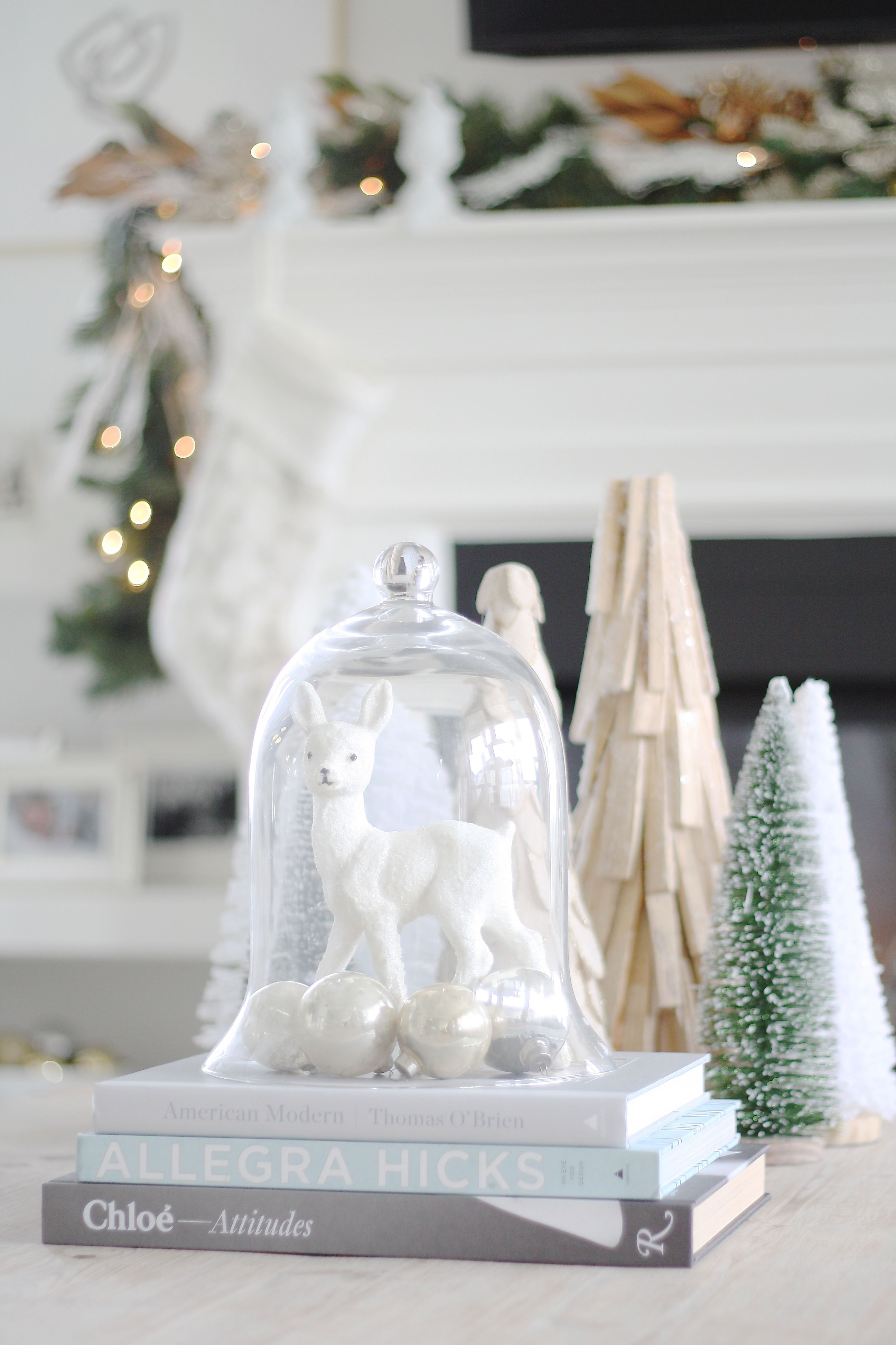 White fawn christmas u the doctorus closet holidays pinterest