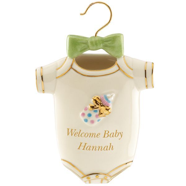 Welcome Baby Ornament By Lenox  Christmas  Pinterest  Baby