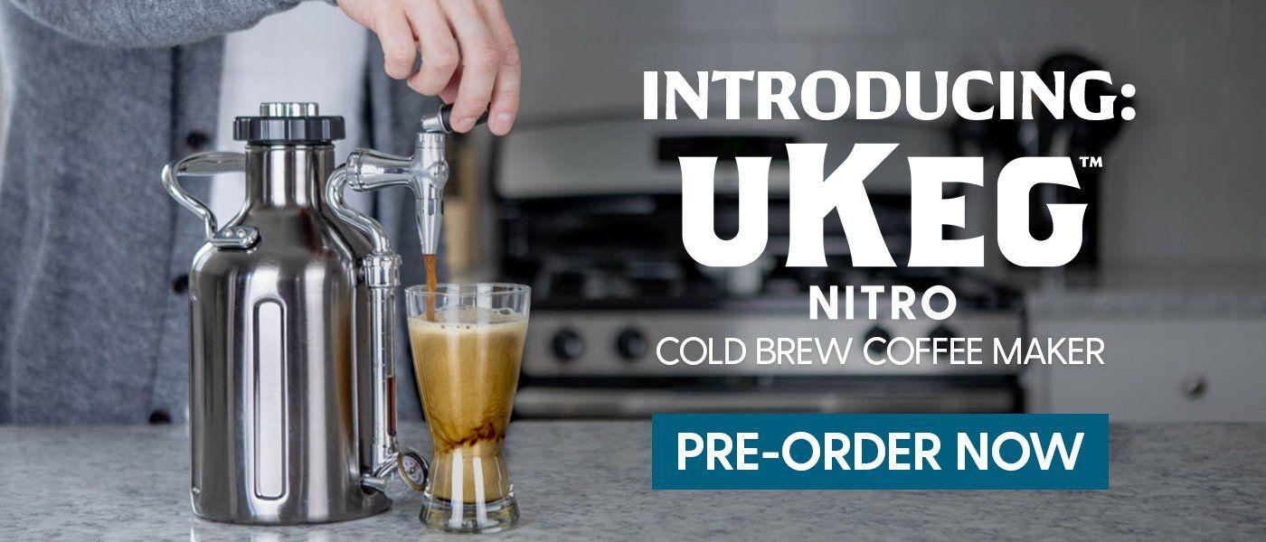 uKeg Nitro Cold Brew Coffee Maker