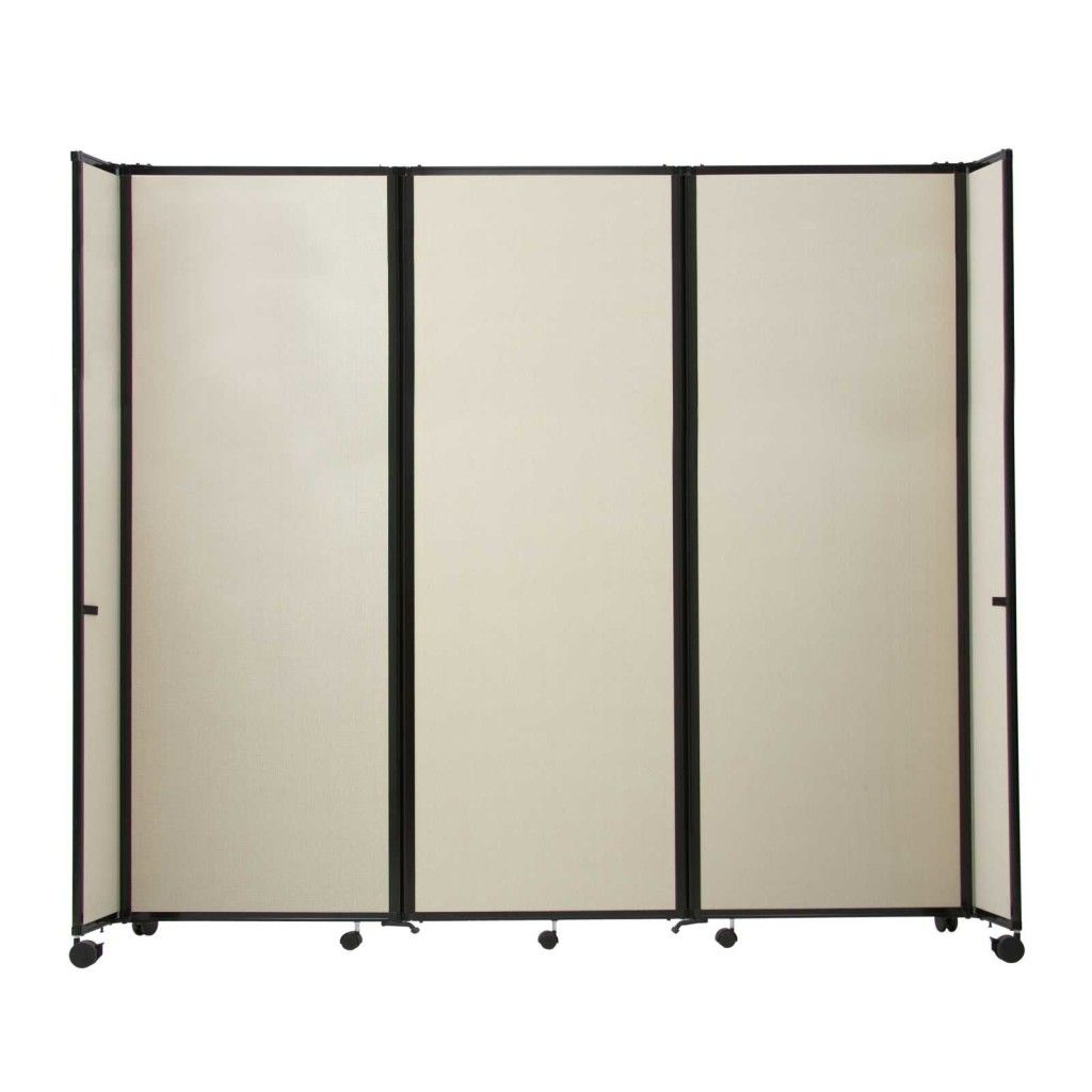 Portable room dividers ikea versare 5 panels plastic for Movable walls room partitions