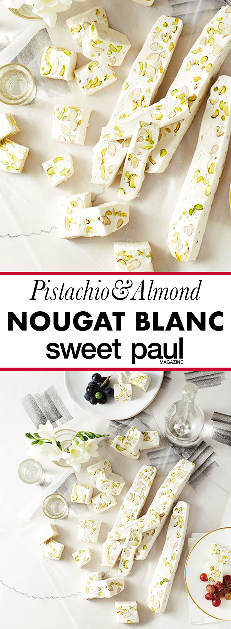 Photo of Nougat Blanc with Pistachios & Almonds | Sweet Paul Magazine