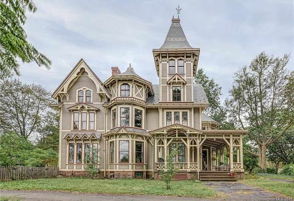 Victorian Gothic House when first built in 1876, the victorian gothic house was one of