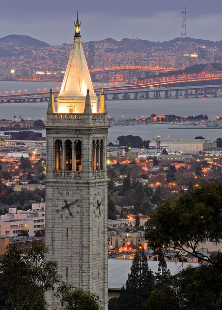 Sather Tower, UC Berkeley | h o m e in 2019 | Berkeley