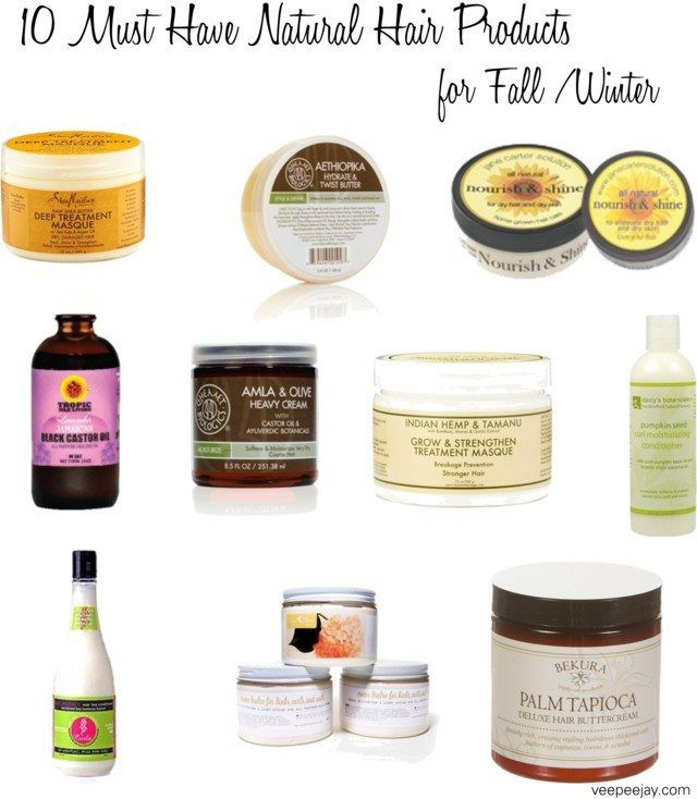 17 Must Have Natural Hair Products for Fall