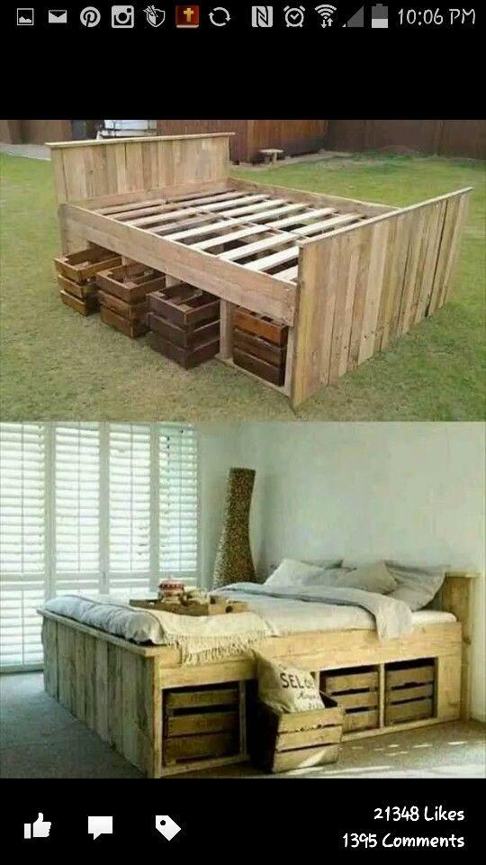 20 Great Crate Projects | Möbel, Kreativ und Neuer