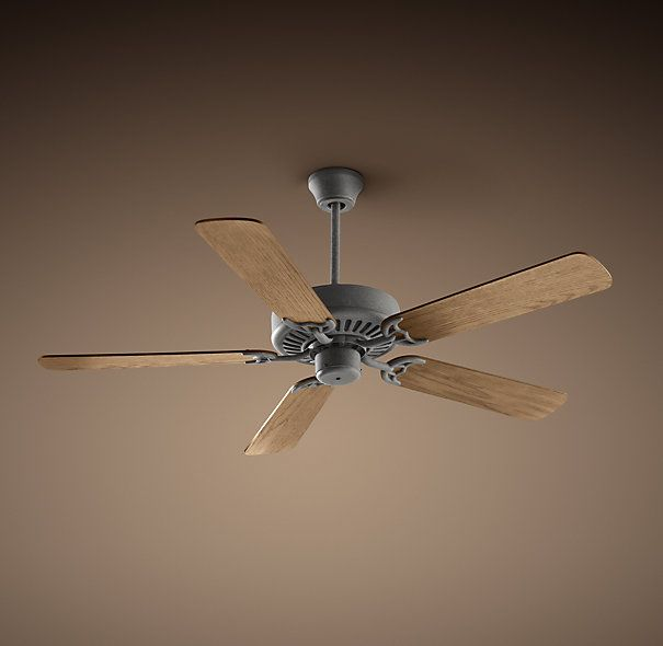 BISTRO CEILING FAN Inspired by the fans that rotate lazily in