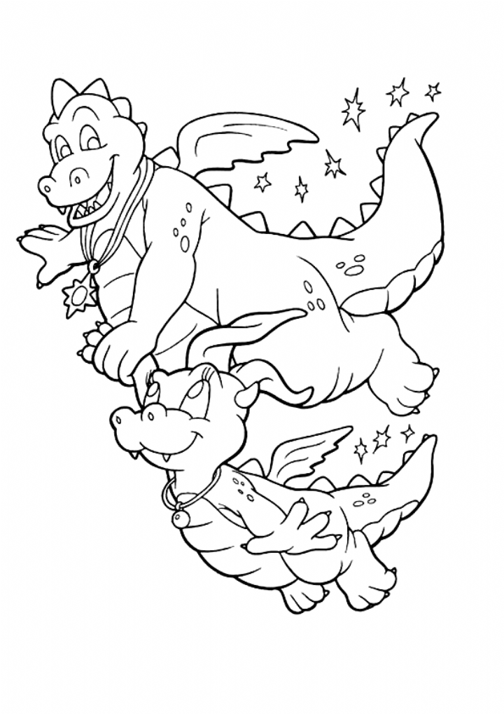 Baby Dragon Coloring Pages Love Design