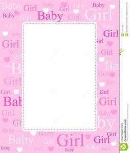 Baby Girl Page Borders Free Printable Baby Shower Invitations Baby Shower Invitation Templates Free Baby Shower Invitations