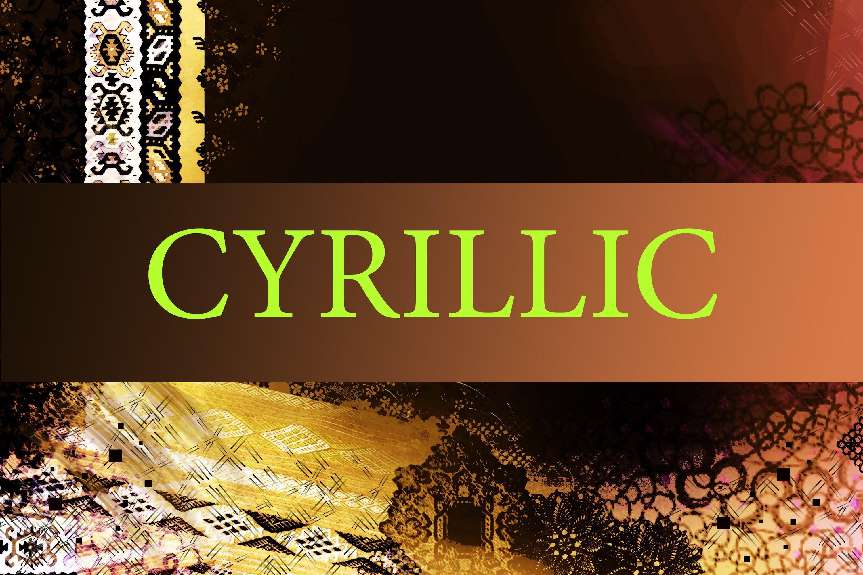 Cyrillic script - Wikipedia