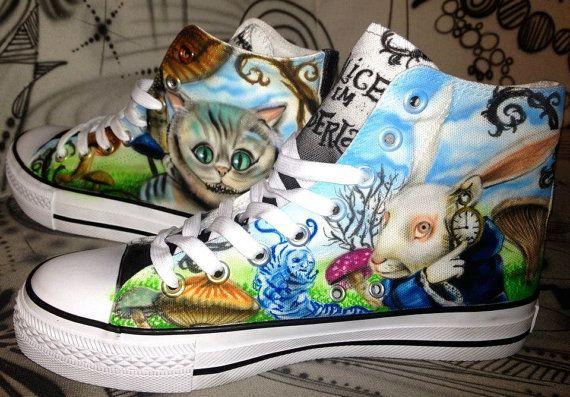 Designer Dac Crew Airbrush Schuhe Sneaker Canvas Graffiti