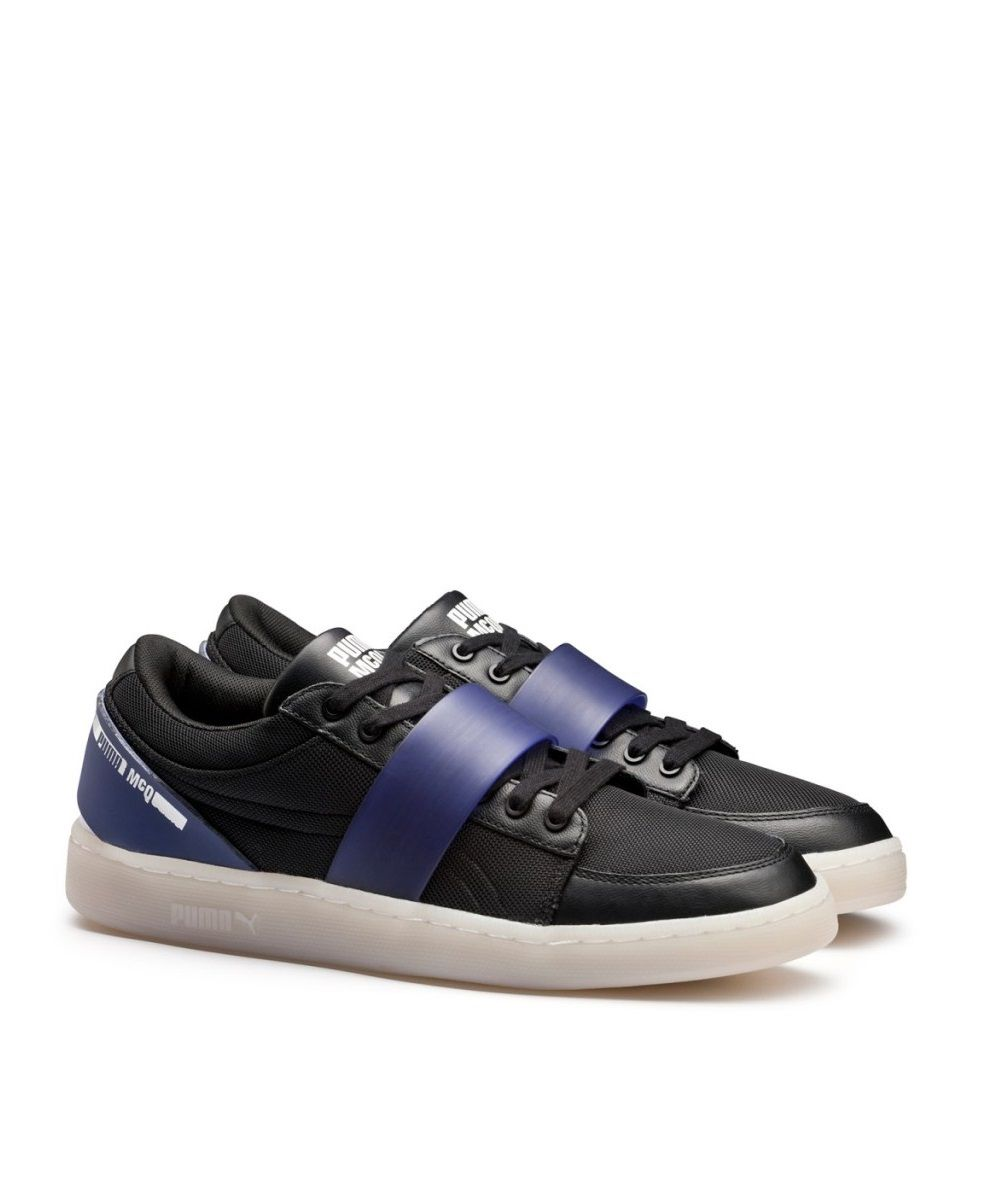Puma McQ Serve Lo: Black/Purple