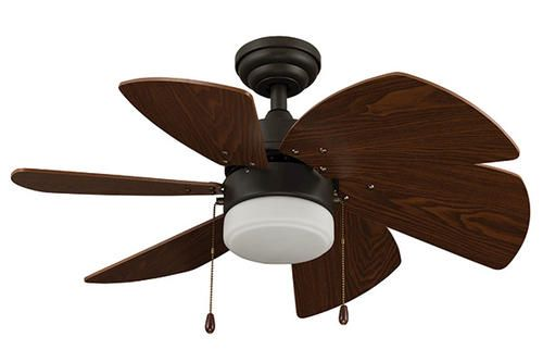Turn Of The Century Karlyn Globe Light Bronze Finish Ceiling Fan At Menards