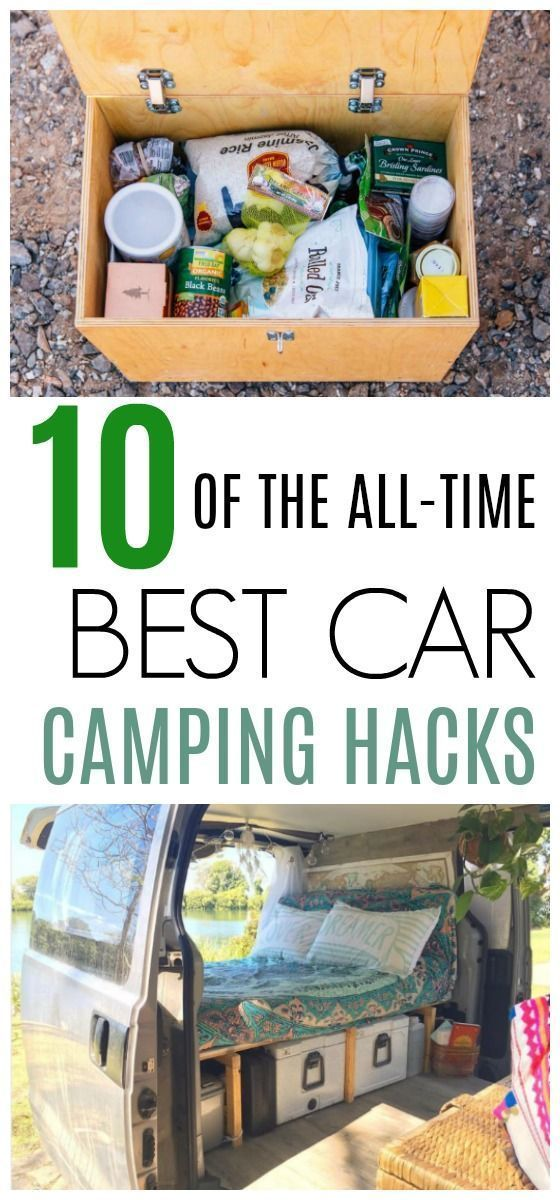 Photo of 10 of the best car camping hacks ever – camping – #aller #AutoCampingHa …