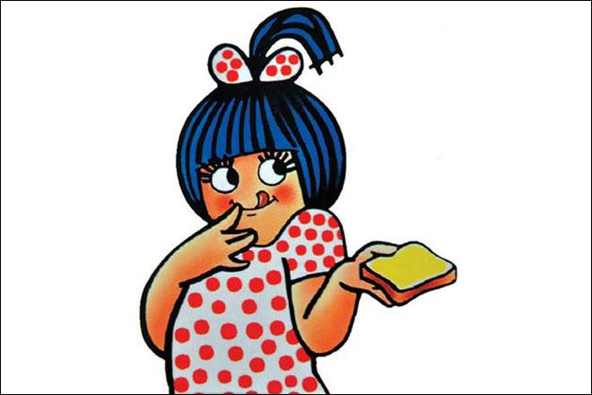 Image result for amul butter girl images