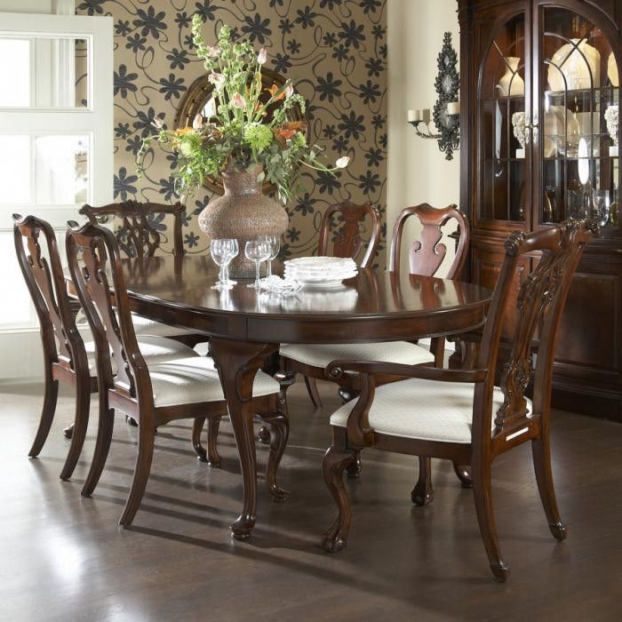 American Cherry Marlboro Dining Table by Fine Furniture Design