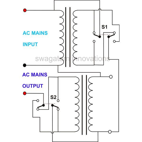 auto transformer wiring diagram