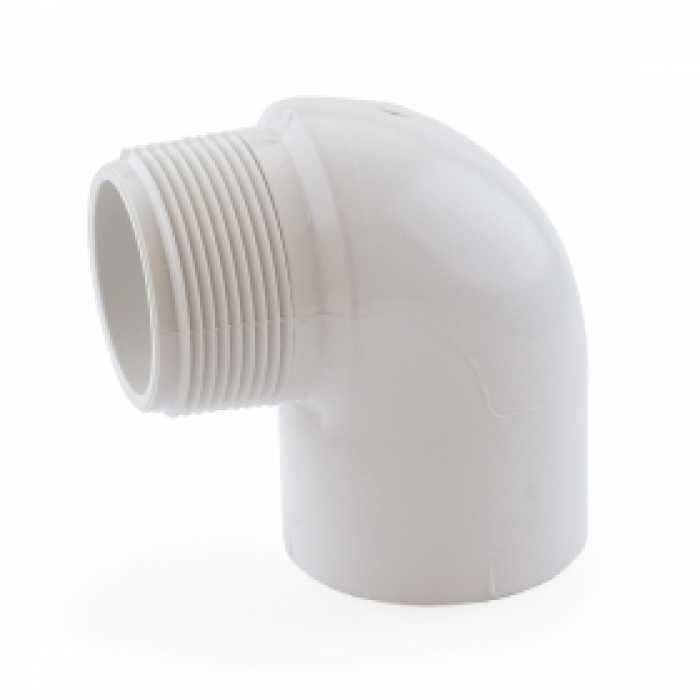 1 1 2 Pvc Sch 40 Socket X Mip 90 Elbow Pvc Fittings Sockets Pvc