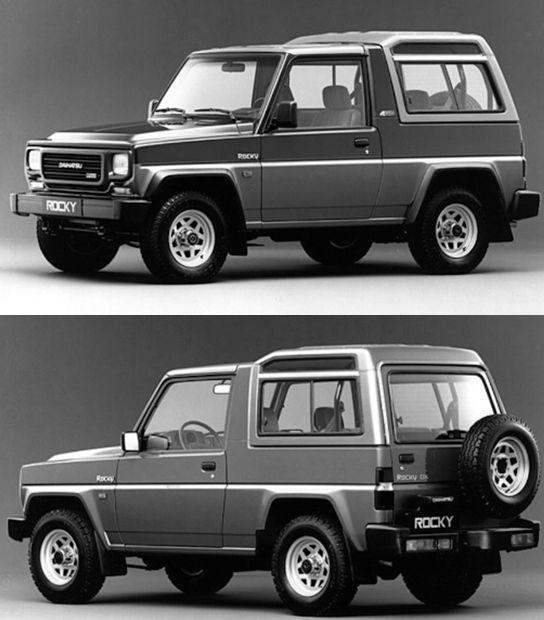 Daihatsu Rocky 1988 1992 Jip Mobil Impian Mobil