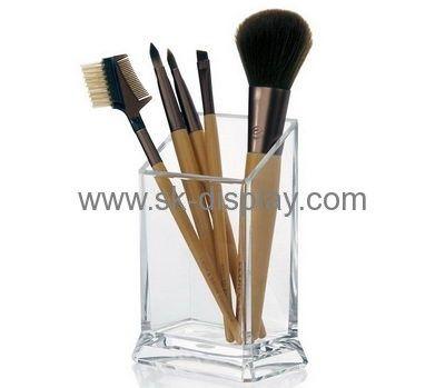 Hot selling retail acrylic displays makeup brush organiser display racks for sale CO-144