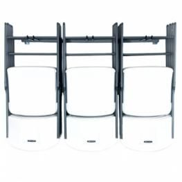 Folding Chair Rack Storage For People Who Have A Lot Of