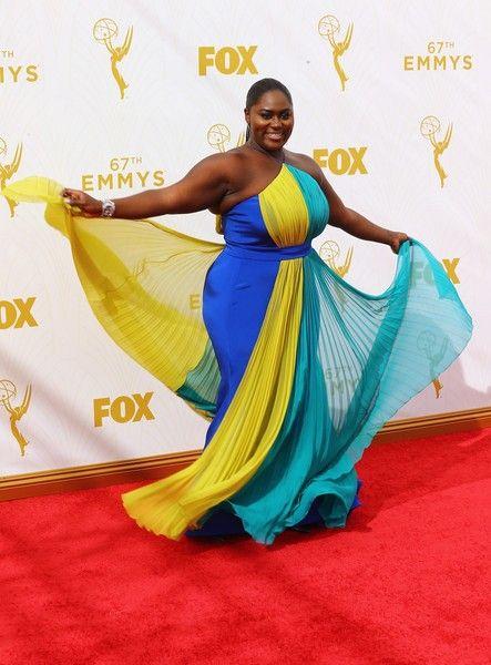 8c584f9e3c1 Danielle Brooks Plus Size Prom Dress 67th Annual Primetime Emmy Awards