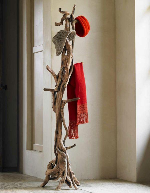 garderobenst nder aus treibholz rustikaler stil zuk nftige projekte pinterest rustikaler. Black Bedroom Furniture Sets. Home Design Ideas