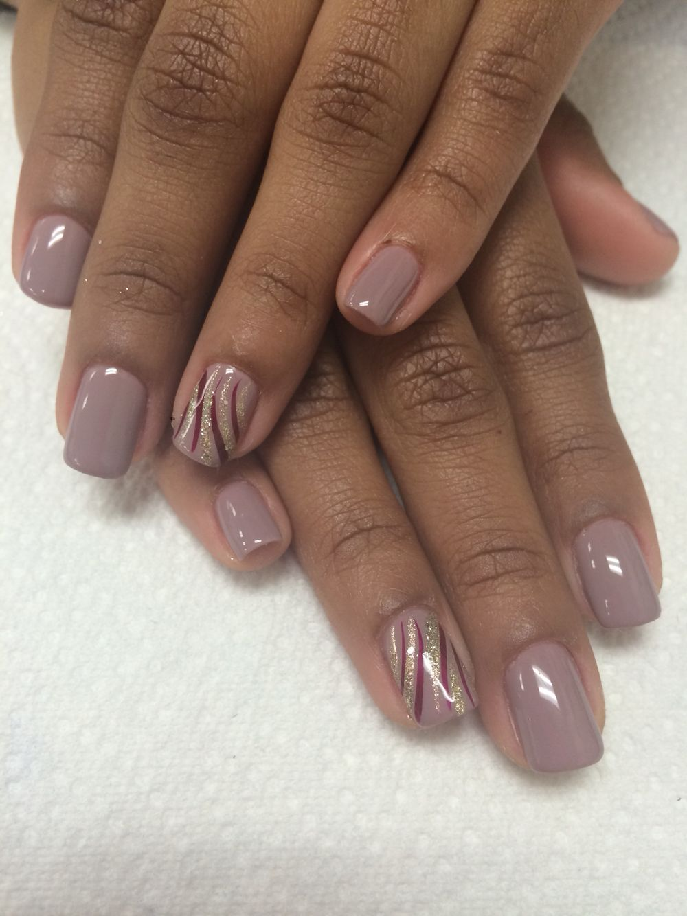 Gel Manicure With Nails Designs By Rebeca At Beauty And The Beach
