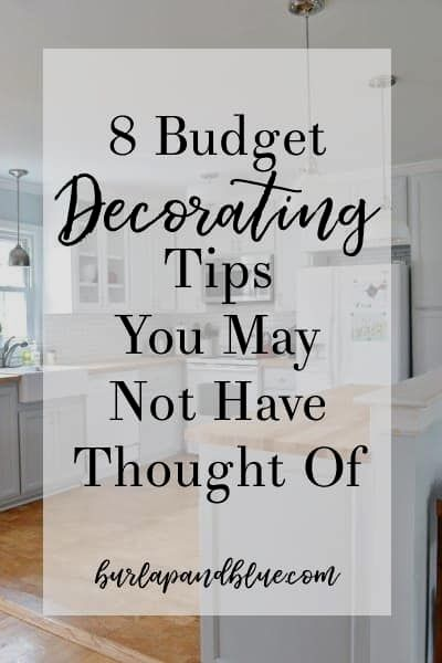 decorating on a budget uk #homedecormurah