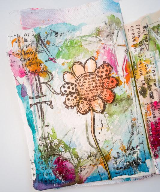FREE ART JOURNAL TUTORIAL ON YOUTUBE. #rubberdance #rubberdancestamps #artjournaling #artjournal #papercrafting #scrapbooking #cardmaking #journallove #artjournallove #mixedmediaart #mixedmedia Susanne Rose Designs: Junk Art Journal - 3 Videos #artjournalmixedmediainspiration