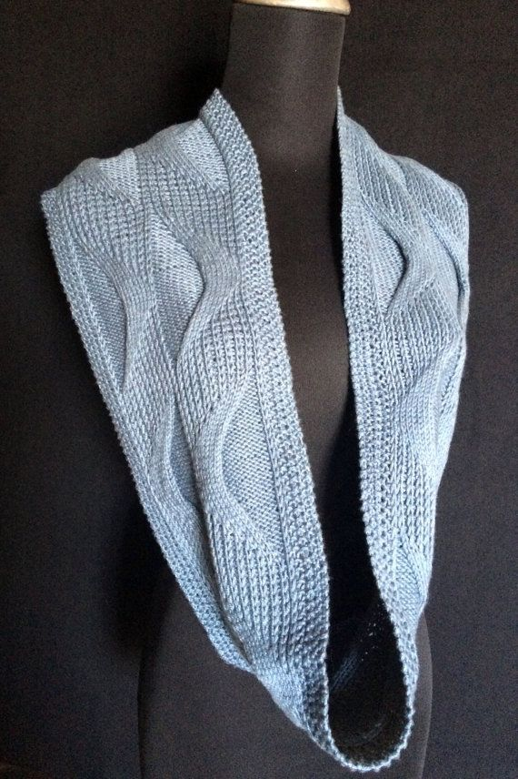 PDF Hand Knitting Pattern Underlying Structures Long Cowl | Muster ...