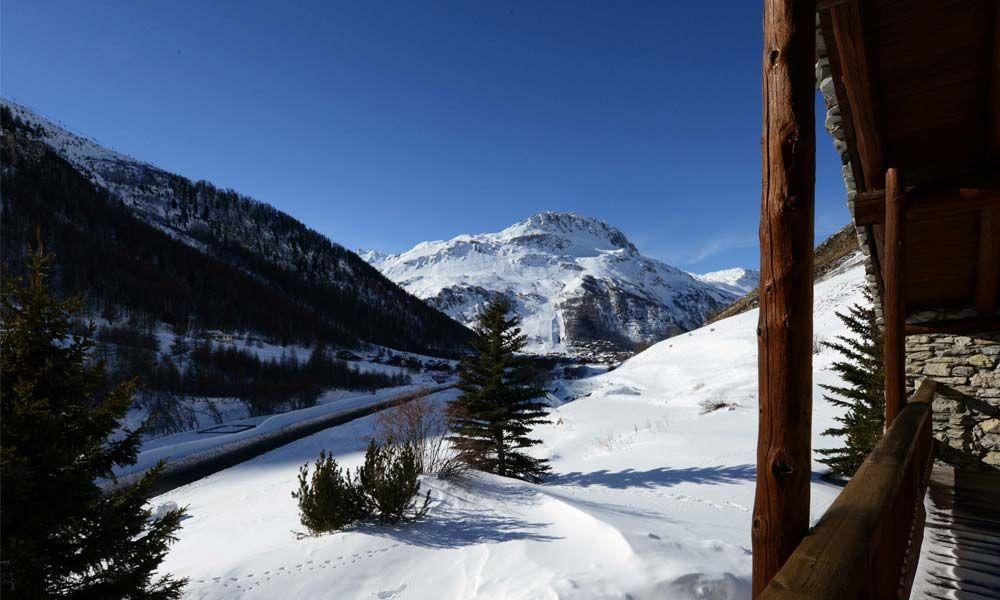 Chalet Les Branges in Val-d'Isère, France #chalet #mountain