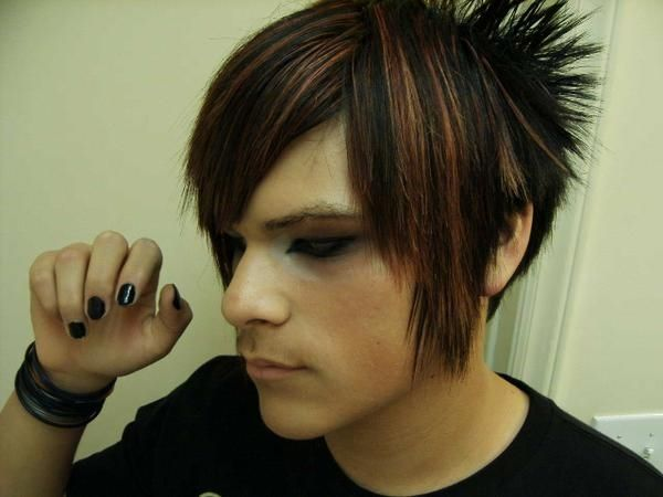 modern emo hairstyles