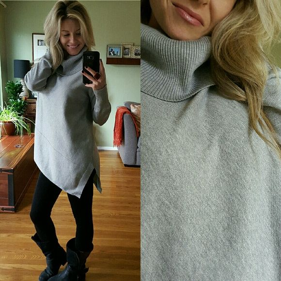 RESERVED 💋 Only One▫Light Grey Cowl Neck Sweater | Cowl neck ...