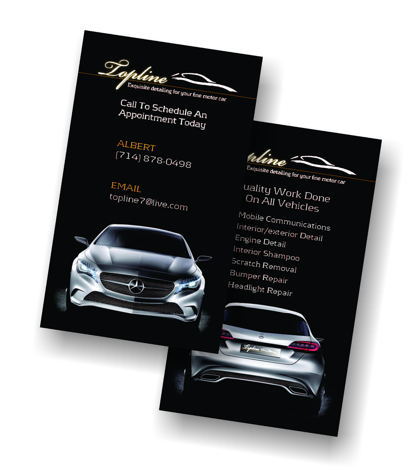 Business Card Design For Auto Detail Shop Business Cards Creative Free Business Cards Business Card Design Creative