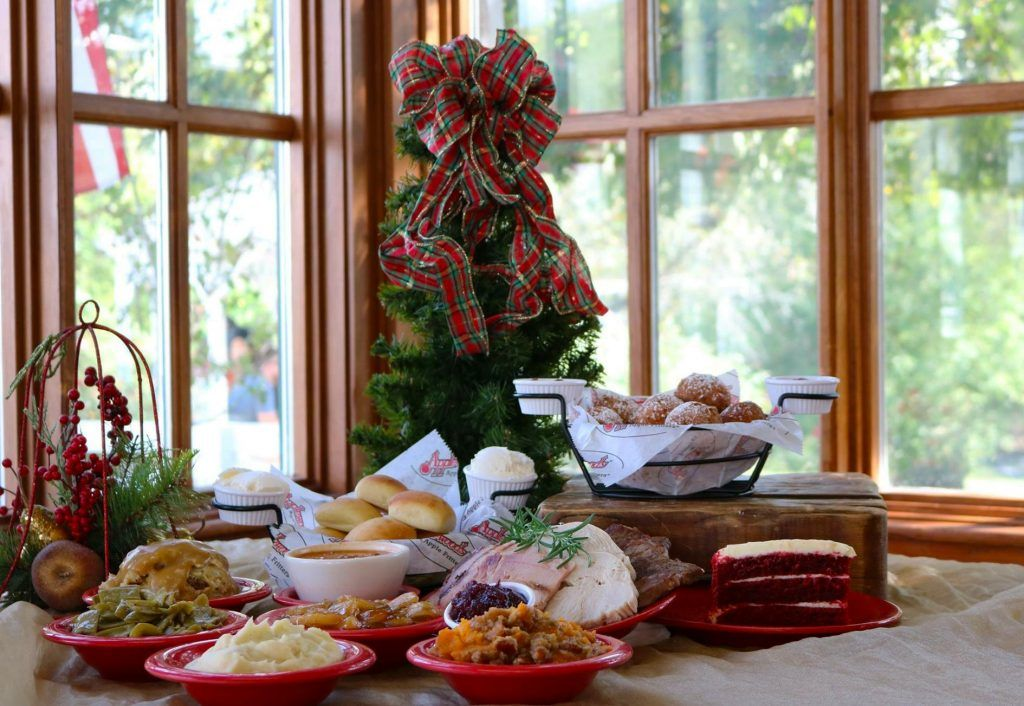 Christmas dinner at Applewood Farmhouse. Come see us