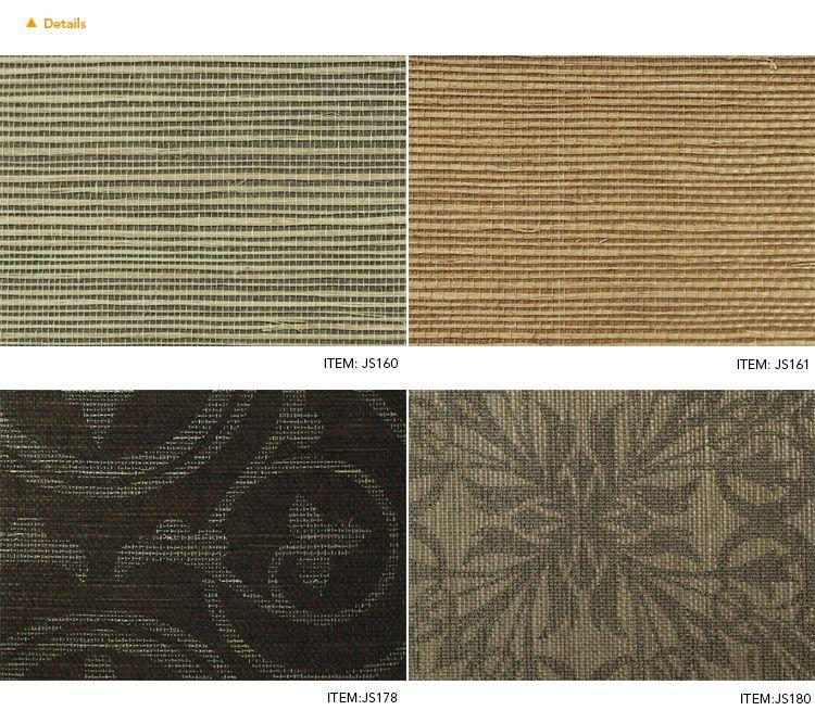 Sisal wallcoverings Grasscloth Sisal Wallpaper Designer Wall paper