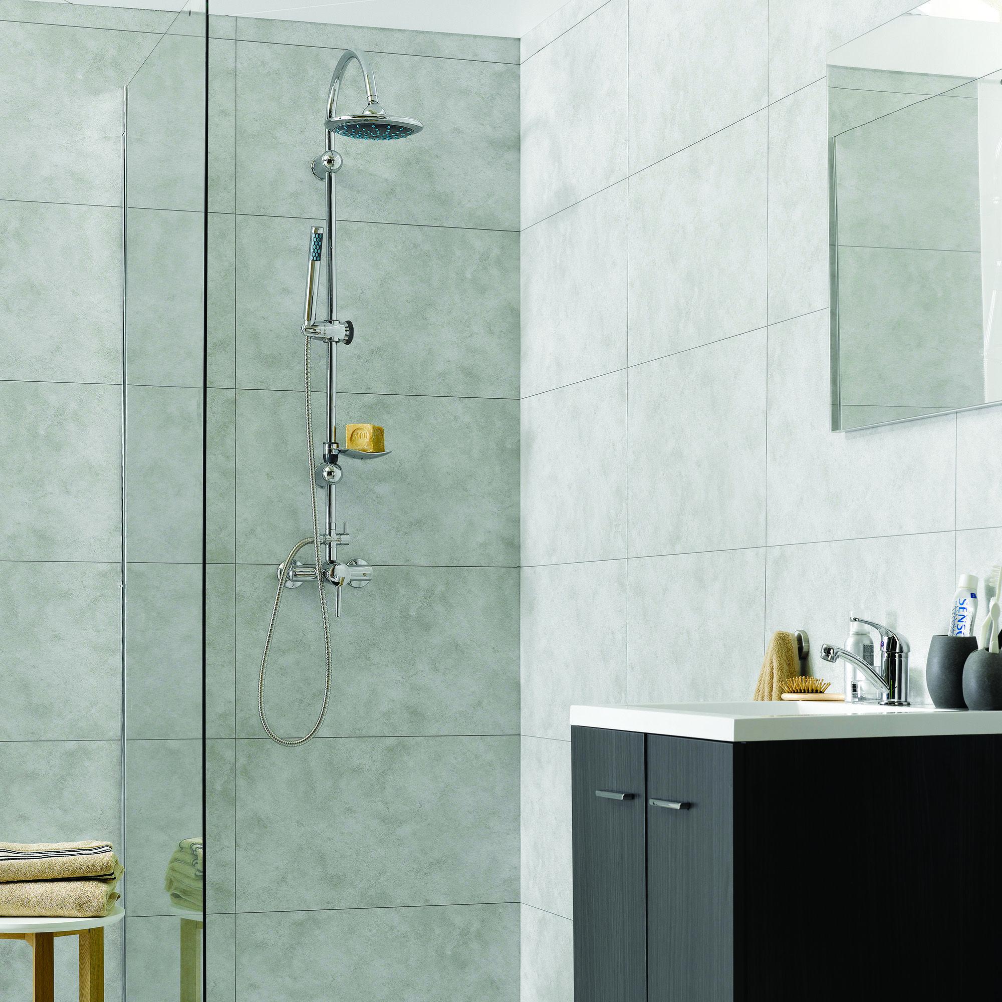 Dumawall Wall Panel In Rain Cloud Stone Backsplash Vinyl Wall Tiles Wall Tiles