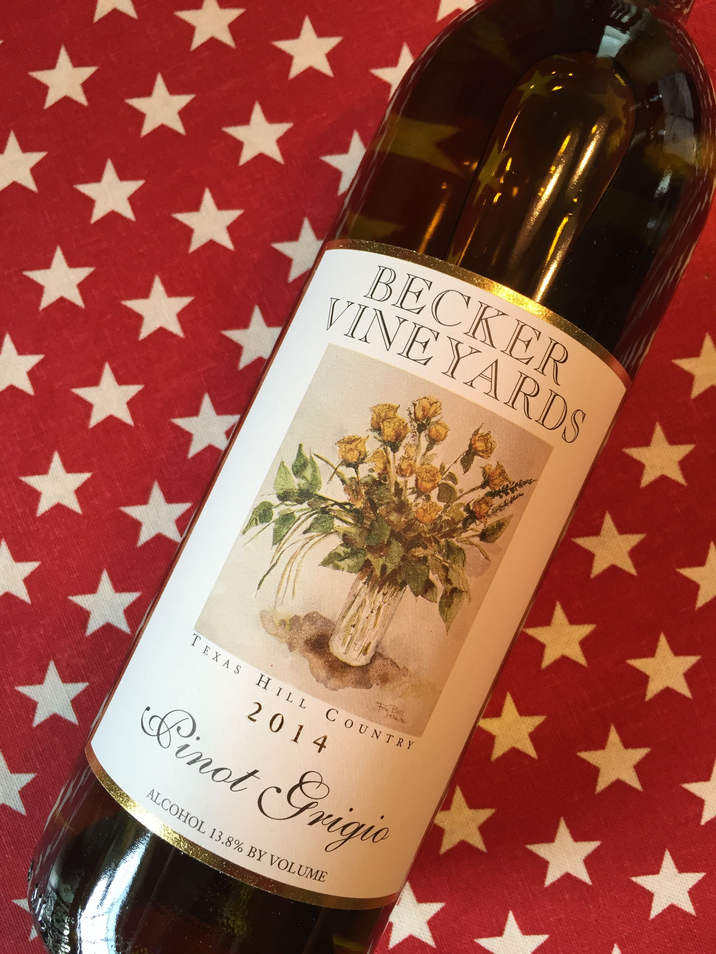 Becker Vineyards Pinot Grigio 2014 Texas Hill Country Aromatics Perfume Of Apple Apricot Honey And A Mineral Edge On The P Pinot Grigio Wine Country Wines