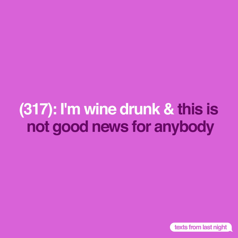 It's wine time. #tfln