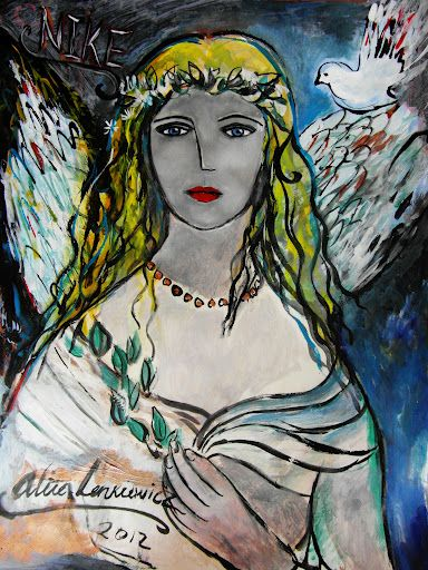 Nike by alice lenkiewicz  For sale at Number Nine the Gallery,  Birmingham.  http://www.numberninethegallery.com/index_numbernine.php?page=home