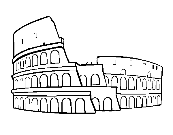 Colosseum Coloring Pages Google Search מסביב לעולם In 2019