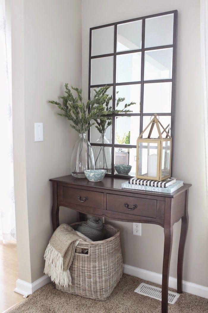 Diy Pottery Barn Eagan Mirror Entryway Decor Small Home Decor