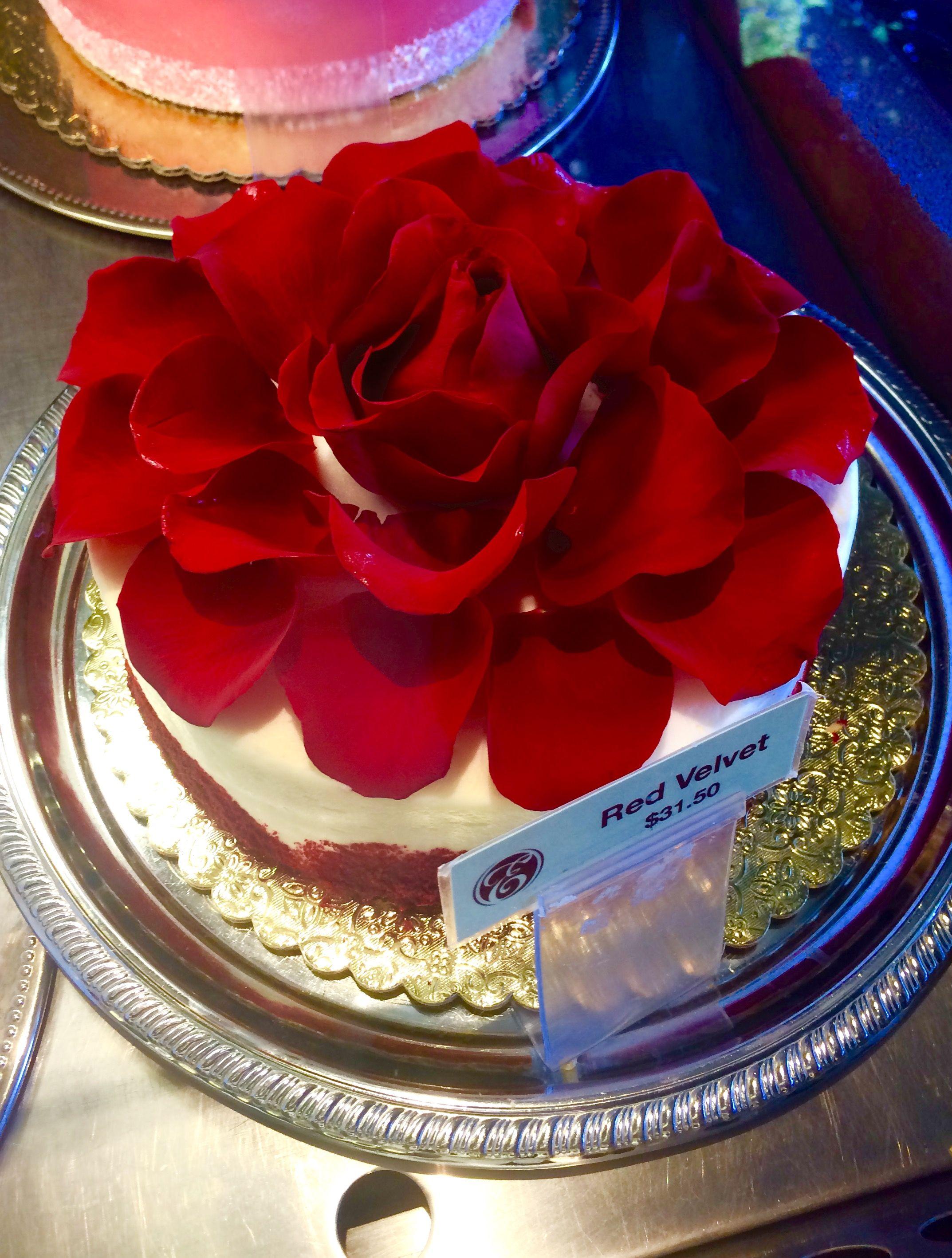 Red Velvet Cake From Ettore's European Bakery & Restaurant